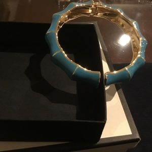 Talbots Jewelry - Talbots Turquoise and Gold Bracelet